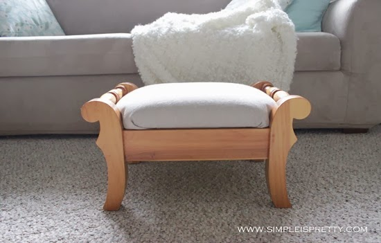 Footstool After from www.simpleispretty.com
