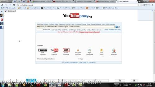 แก้ปัญหาคลิป Youtube โดนบล๊อคด้วย Proxtube (Chrome)