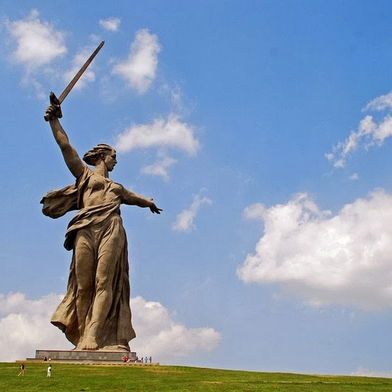 Soviet War Memorial at Mamayev Kurgan
