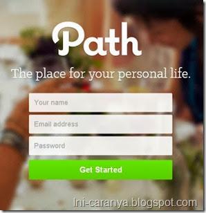 Mendaftar Path