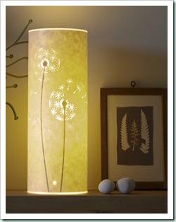 Hannah Nunn's lamp