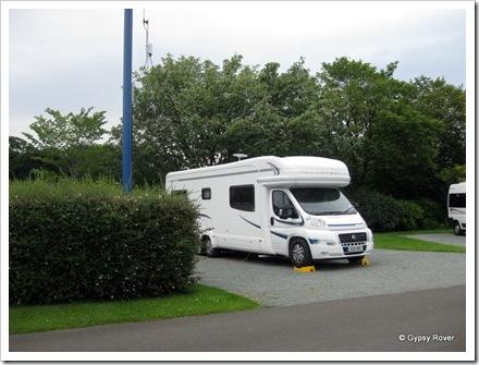 Gypsy Rover at Edinburgh Caravan Club site.