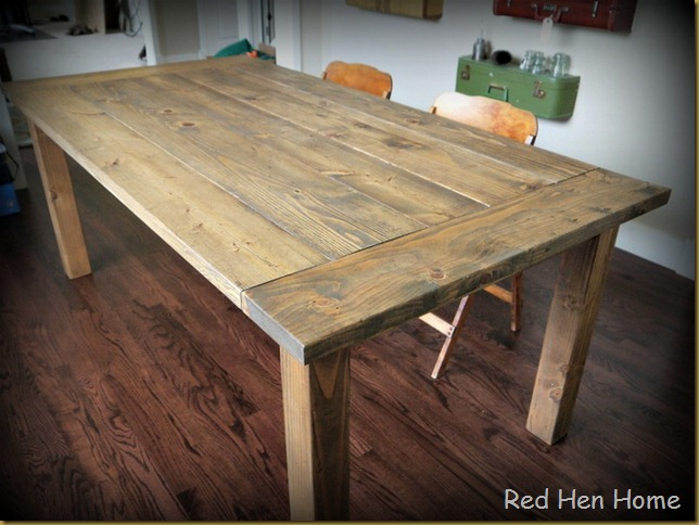 Red Hen Home Farmhouse Table 4