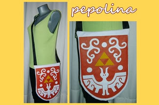 The Hero's Shield The Wind Waker Legend of Zelda Bag by Ivana Pepolina