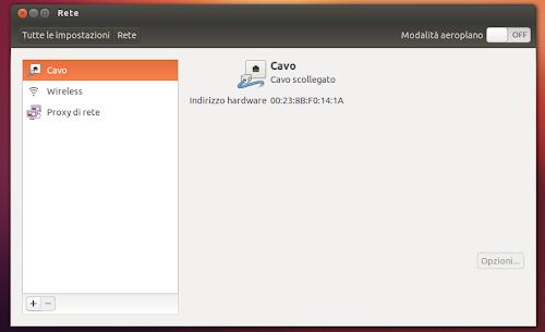 Ubuntu 12.10 - tool rete