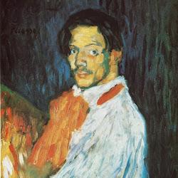Picasso, Self-portrait 'Yo Picasso' 1901.jpg