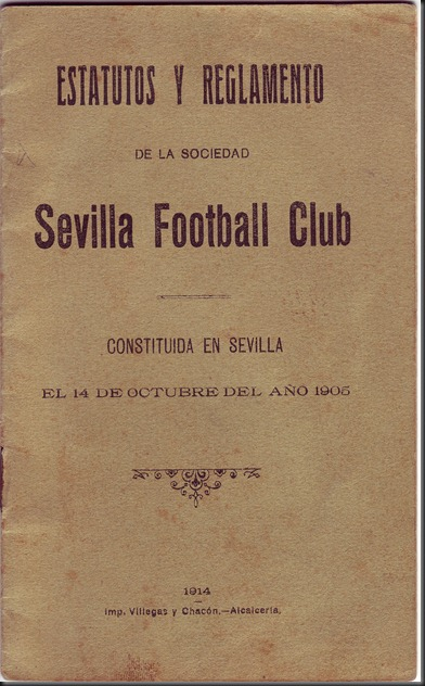 Estatutos del Sevilla