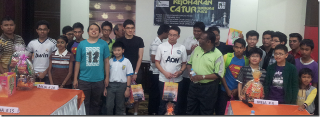 All Winners of PACU Chess Open 2012, Sg Petani, Kedah-29 Dec 2012