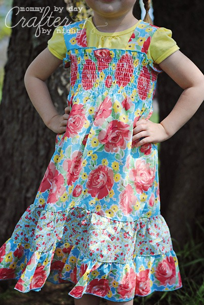 simple easter dress tutorial