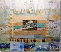 Sue Reno, Ice Jam, Work In Progress, Image 7