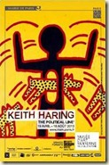 1. Keith Haring Untitled, 1982 Collection de Sheikha Salama bint Hamdan Emirats Arabes Unis © Keith Haring Foundation