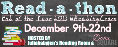 {Read-a-thon} #Readingcram Starting Post & Goals