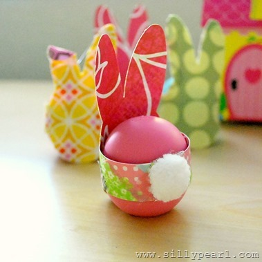 Bunny Rabbit Easter-Eggs by The Silly Pearl