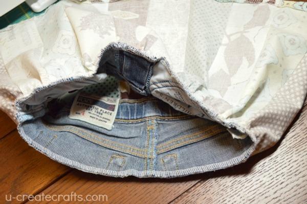 Rolie Polie Raggedy Skirt Tutorial 8