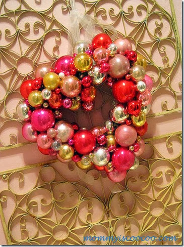 valentine ornament wreath (8)