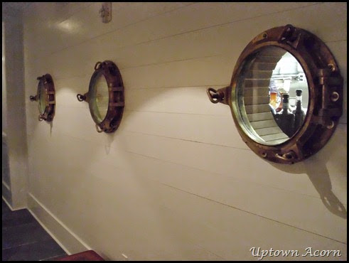 portholes to kitchen