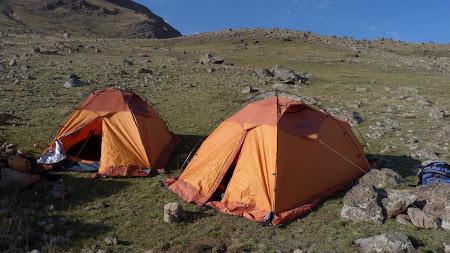 Sabalan Iran: camping