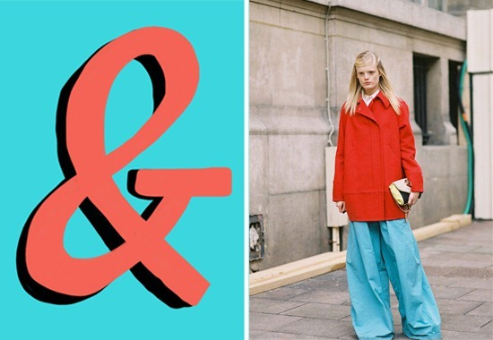 turquoise-coral-ampersand