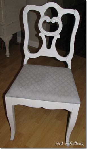 08 ASCP Paris Grey Seat Chair