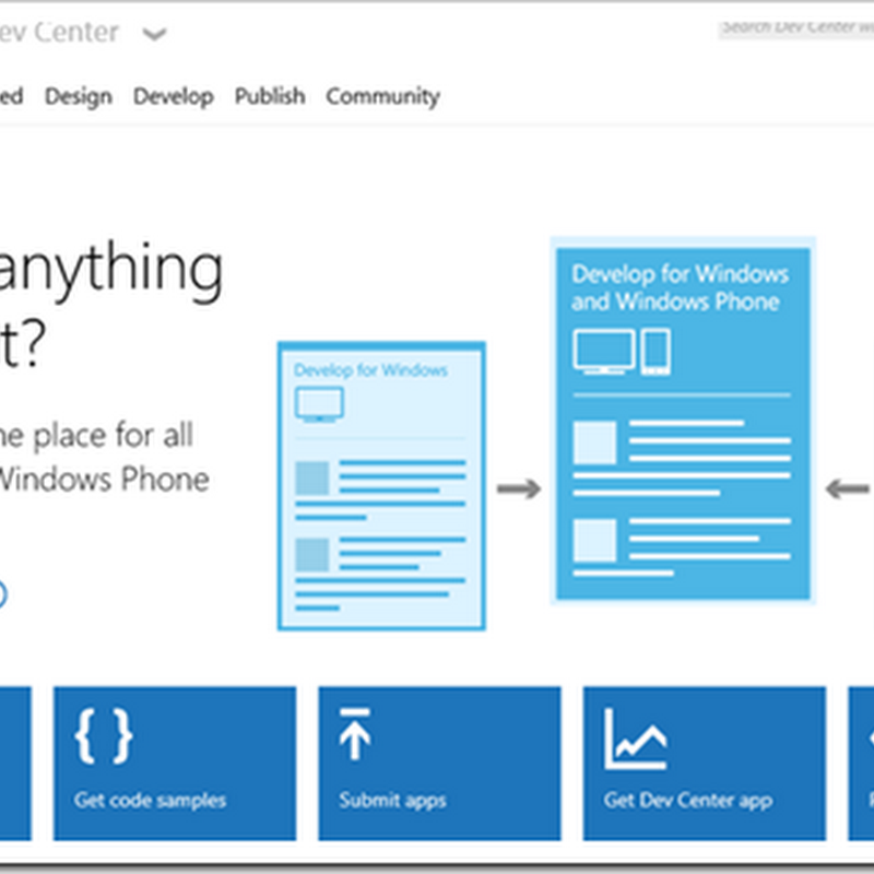 Unified Windows Dev Portal, Documentation (and more)