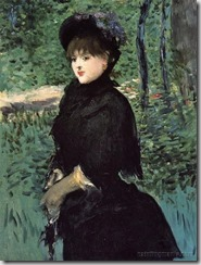 Manet - The promenade