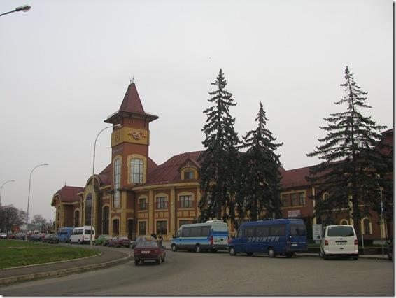 Вокзал в Ужгороді