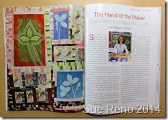 The Hand of the Maker, by Marjorie L. Russell, American Quilter Magazine