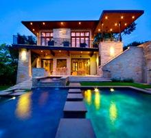casas-contemporaneas-casa-de-lujo-fachadas-de-piedra