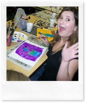 Ciara painting