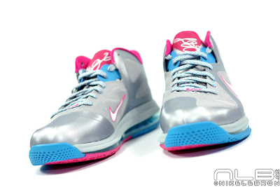 lebron9 low fireberry 15 web white The Showcase: Nike LeBron 9 Low WBF London Fireberry