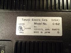 Lumitime C-62 label