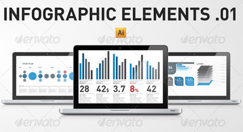 infographic elements template pack