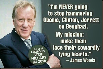 James Woods - Stop Hillary in 2016