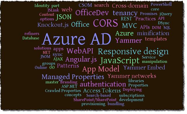 Chris OBrien SharePoint Office 365 skills topics 2
