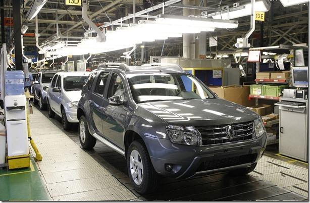 Linha de Produção Duster fábrica renault pinhais