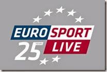Eurosport 25th logo