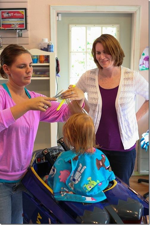 Sara's first haircut-11 blog