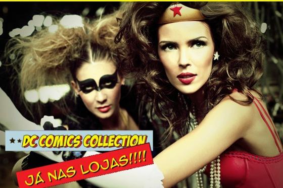 thais gusmao dc comics pijamas lingeries