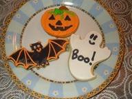 Hallowe'en cookies