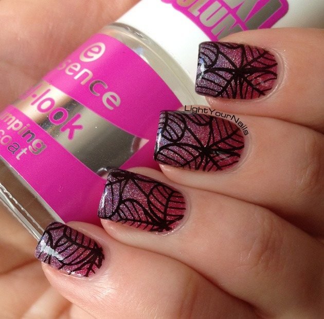 Stamping over gradient with BP-50 plate