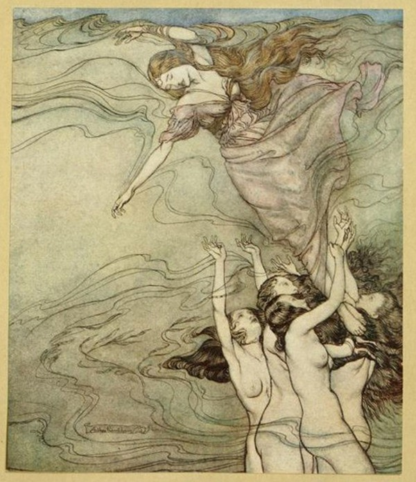 The Water Nymphs by Arthur Rackham, 1921