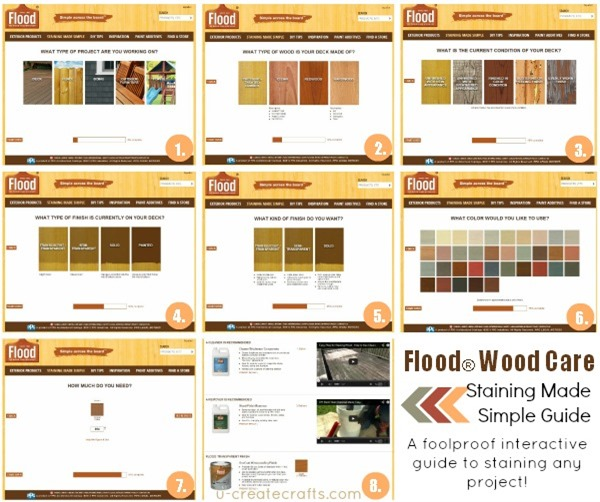 Flood® Wood Care Staining Made Simple Guide and HUGE Sweepstakes ...