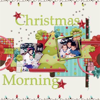 MDK Scraps - Christmas Morning