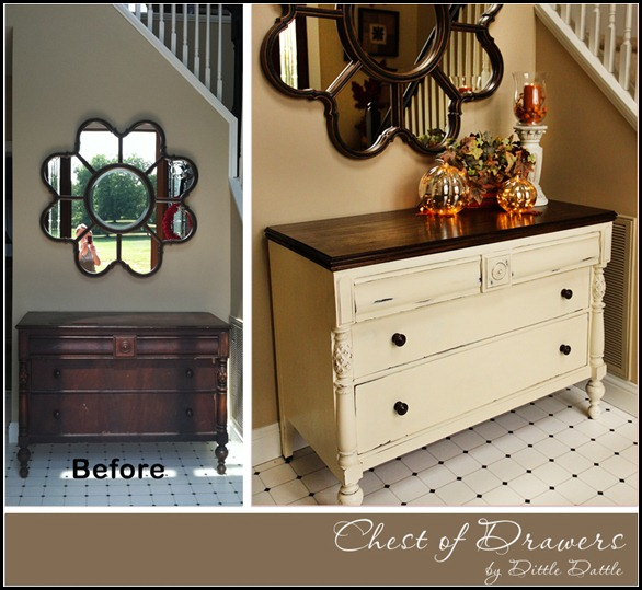 Chest-of-Drawers---Fall---Autumn--Foyer--PB-Mercury-Pumpkins--dittle-dattle