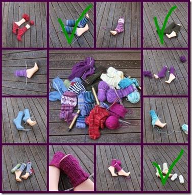 sokker montasje minus tre