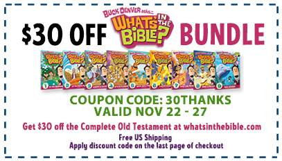 What's in the Bible? Old Testament Bundle $30 OFF