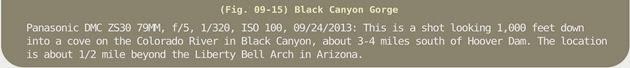 Image Title Bar 144 Fig 09-15 Black Canyon Gorge