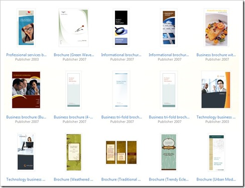 Download Professional Brochure Templates For Publisher Online