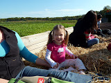 Hay ride at Larriland Farm! (October)