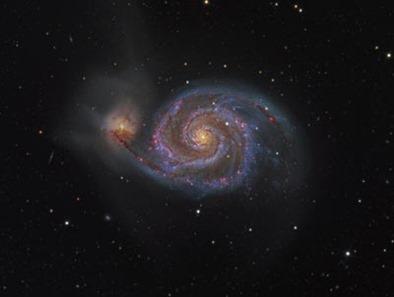 galáxia do Redemoinho e a supernova 2011dh